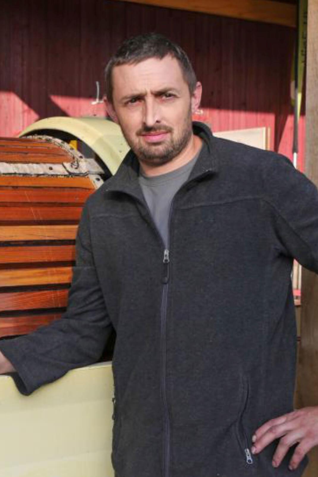 Cyril Delalande du domaine la Massonnière, vignoble en AOC Chinon à Huismes